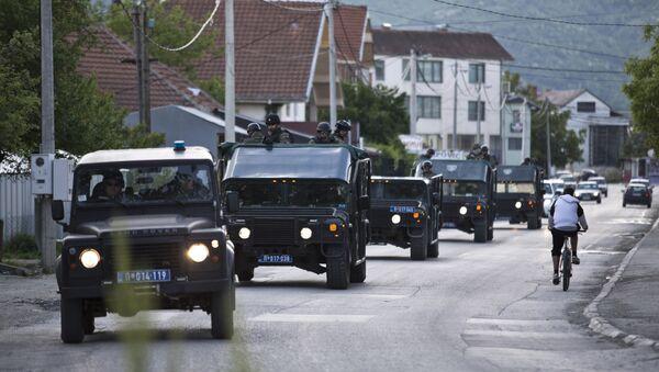 Srpska žandarmerija u Preševu - arhivska fotografija - Sputnik Srbija