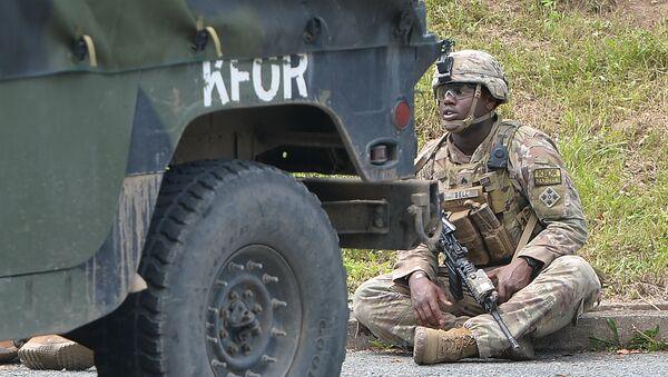 Američki vojnik na Gazivodama - Sputnik Srbija