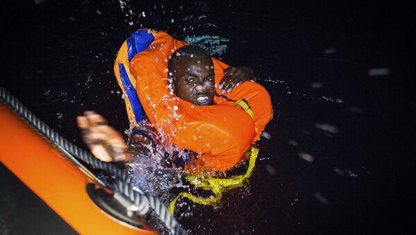 Spasavanje migranata iz Mediterana - Sputnik Srbija