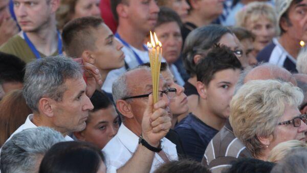 Molitva za žrtve pogroma u Oluji - Sputnik Srbija