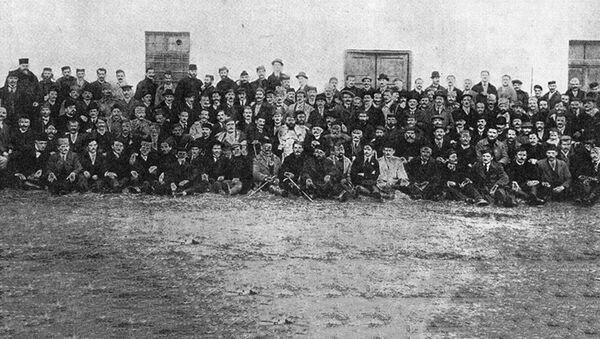 Učesnici Velike narodne skupštine srpskog naroda u Crnoj Gori , Podgorica 26.11.1918 - Sputnik Srbija