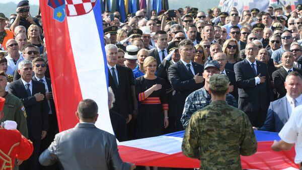 Proslava Oluje u Kninu - Sputnik Srbija
