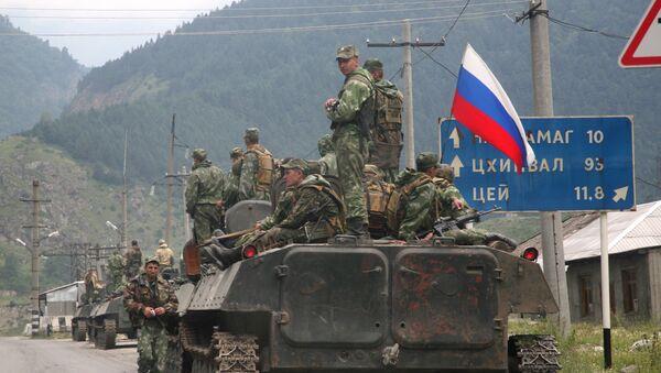 Руска војска у Јужној Осетији - Sputnik Србија