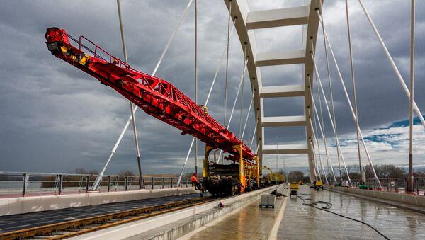 Izgradnja pruge - Sputnik Srbija