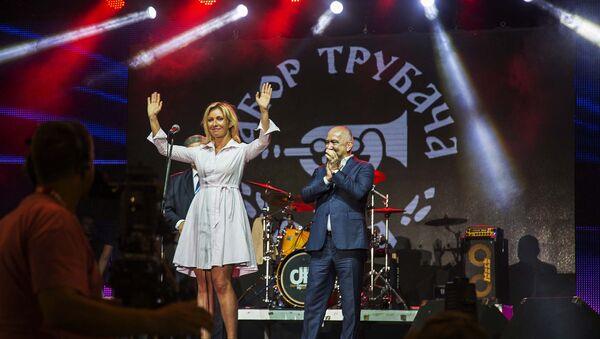 Марија Захарова на великој сцени у Гучи - Sputnik Србија