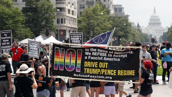 Protest u Vašingtonu - Sputnik Srbija