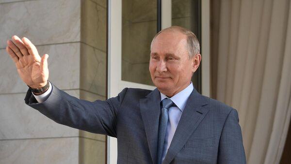 Predsednik Rusije Vladmir Putin - Sputnik Srbija