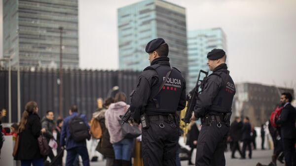 Каталонска полиција у Барселони - Sputnik Србија