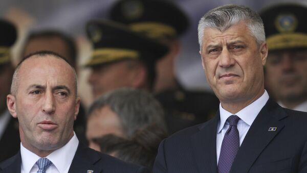 Рамуш Харадинај и Хашим Тачи - Sputnik Србија