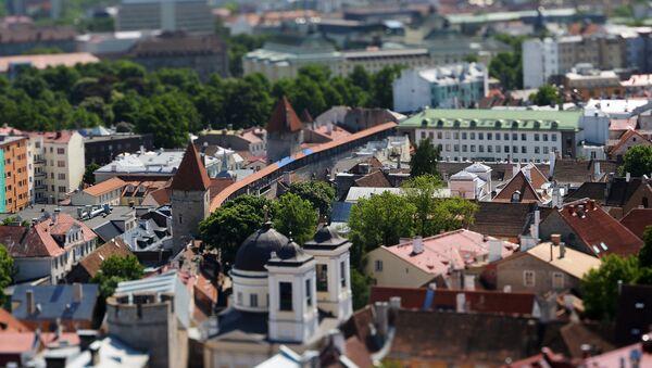 Pogled na Stari grad u Talinu - Sputnik Srbija