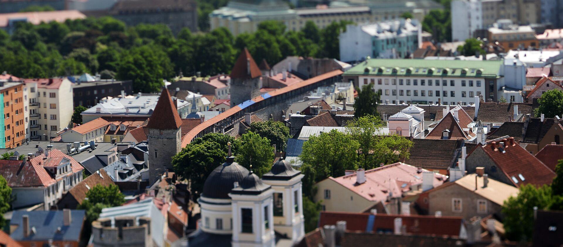 Поглед на Стари град у Талину - Sputnik Србија, 1920, 06.07.2021