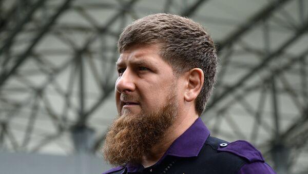 Чеченски лидер Рамзан Кадиров - Sputnik Србија