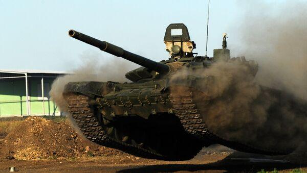 Tenk T-72B3 na vojnoj vežbi u okviru foruma Armija 2018 - Sputnik Srbija