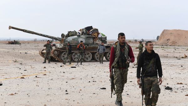 Sirijske vladine snage u provinciji Idlib - Sputnik Srbija