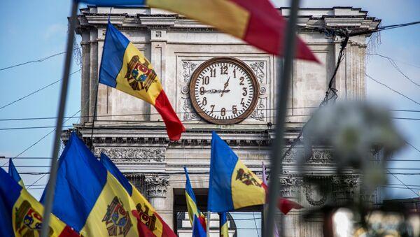 Protest opozicije u glavnom gradu Moldavije. - Sputnik Srbija