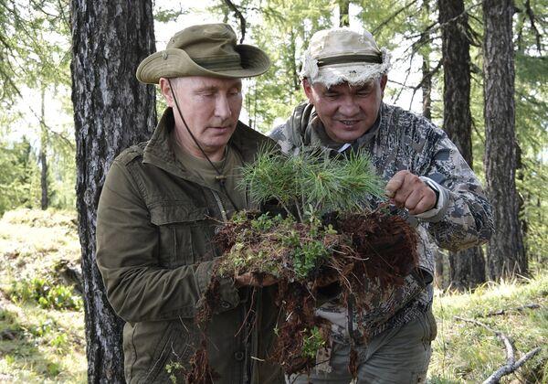 Руски председник Владимир Путин у Тави - Sputnik Србија
