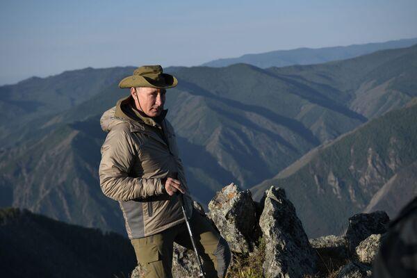 Владимир Путин на одмору у Туви - Sputnik Србија