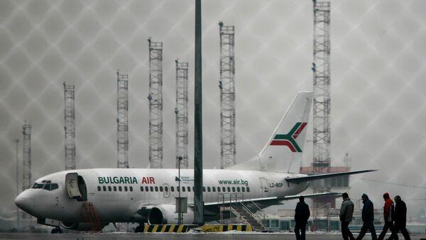 Авион бугарске авиокомпаније Булгарија ејр - Sputnik Србија