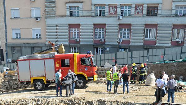 Радник погинуо на градилишту - Sputnik Србија