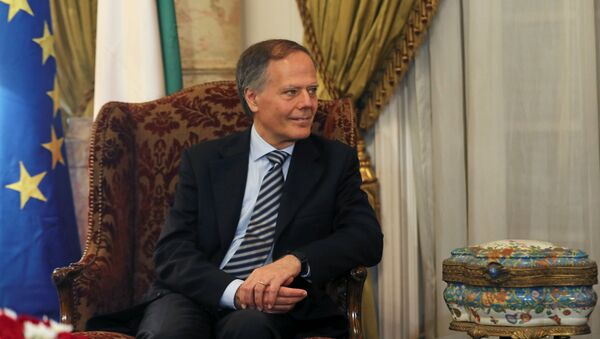 Ministar inostranih poslova Italije Enco Moavero Milanezi - Sputnik Srbija