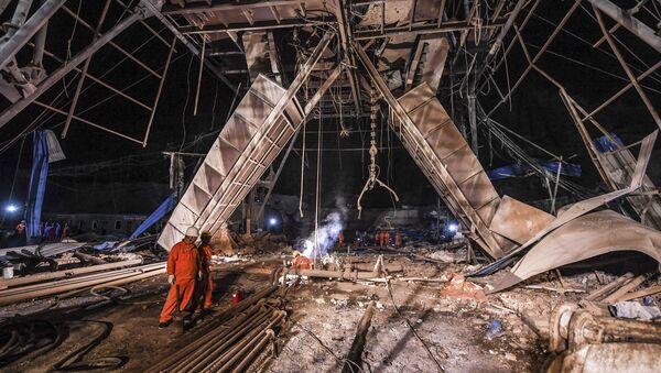 Rudnik u kineskoj provinciji Lijaoning - Sputnik Srbija
