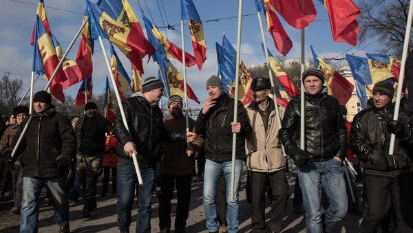 Demonstranti u Kišinjevu - Sputnik Srbija