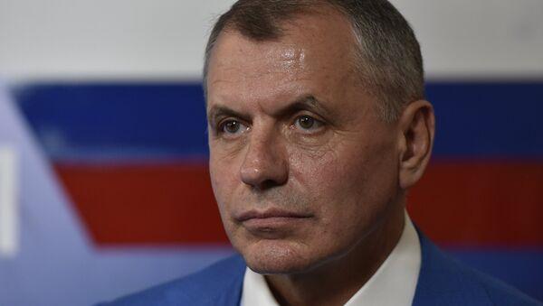 Predsednik Državnog saveta Krima Vladimir Konstantinov - Sputnik Srbija
