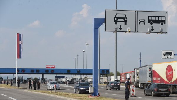 Granični prelaz Preševo - Tabanovce - Sputnik Srbija