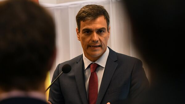 Pedro Sančez - Sputnik Srbija
