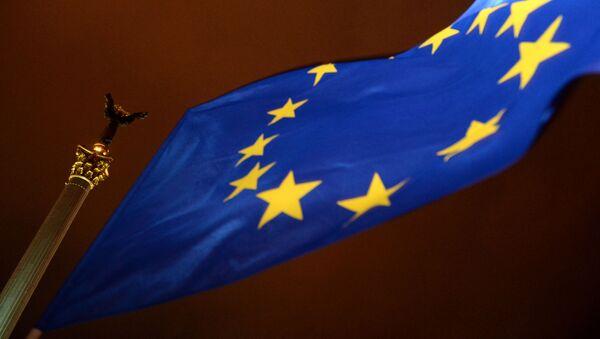 Zastava EU u Kijevu - Sputnik Srbija