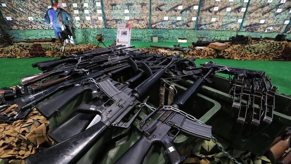 Vatreno oružje zaplenjeno od terorista u Siriji - Sputnik Srbija