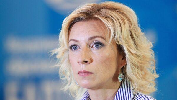 Портпаролка руског Министарства иностраних послова Русије Марије Захарова - Sputnik Србија