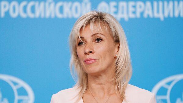 Portparolka ruskog Ministarstva inostranih poslova Rusije Marije Zaharova - Sputnik Srbija