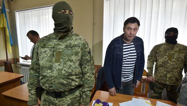 Уредник портала РИА Новости Украјина Кирил Вишински - Sputnik Србија