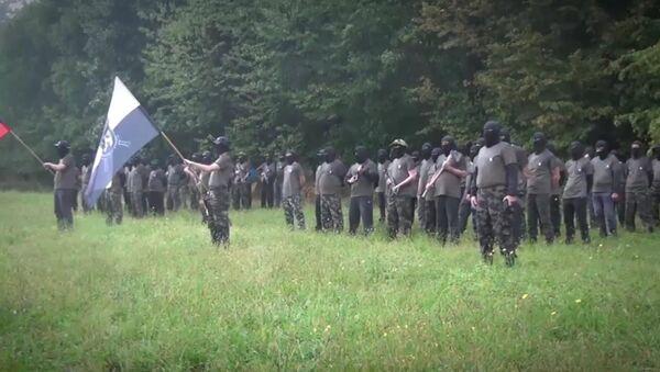 Тренинг Штајерске страже организован у кампу по војним правилима - Sputnik Србија