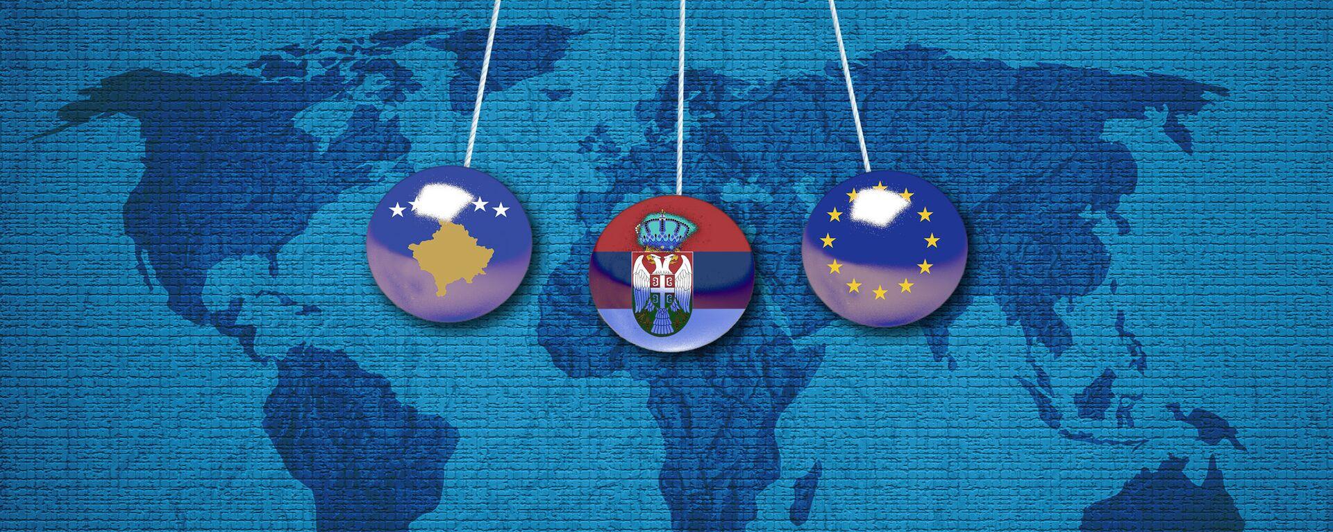 Srbija, tzv. Kosovo i EU - Sputnik Srbija, 1920, 08.09.2021