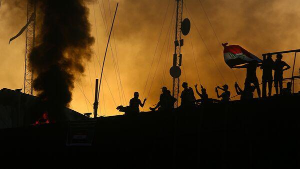Protesti u Basri - Sputnik Srbija