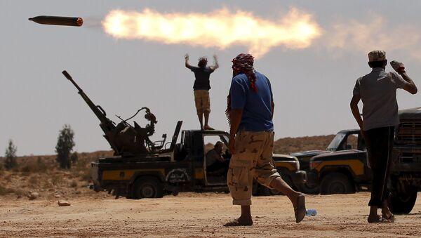 Antivladina ofanziva u gradu Sirt, Libija - Sputnik Srbija