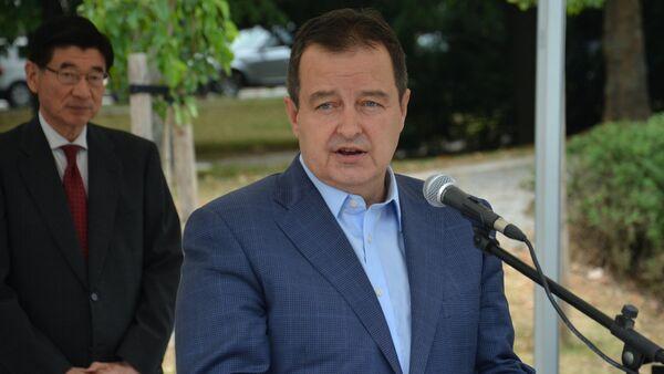 Ministar spoljnih poslova Srbije Ivica Dačić - Sputnik Srbija