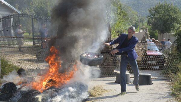 Албанци блокирају прилазе селу Бање на Косову и Метохији - Sputnik Србија