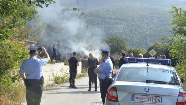 Blokada na putu ka Banjama - Sputnik Srbija