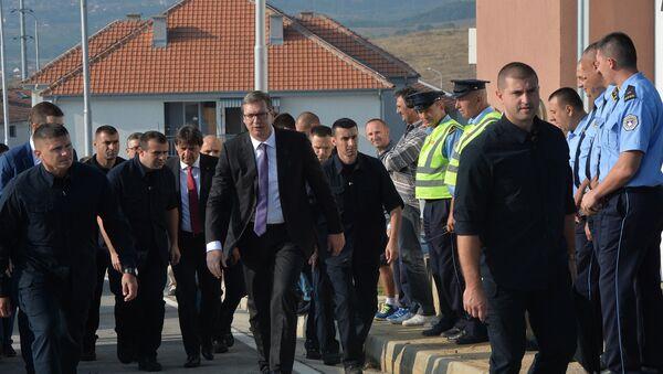Aleksandar Vučić na Kosovu - Sputnik Srbija