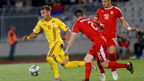 Reprezentacija Srbije protiv reprezentacije Rumunije - Sputnik Srbija