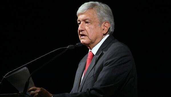 Новоизабрани председник Мексика Андрес Мануел Лопес Обрадор у Мексико Ситију - Sputnik Србија