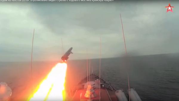 Lansiranje raketa sa krstarice Varjag - Sputnik Srbija