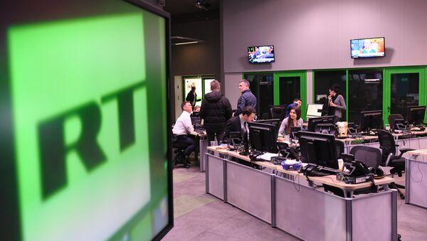Редакција телевизије РТ у Москви - Sputnik Србија