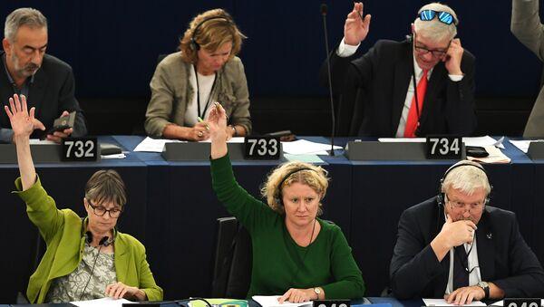 Гласање у Европском парламенту - Sputnik Србија