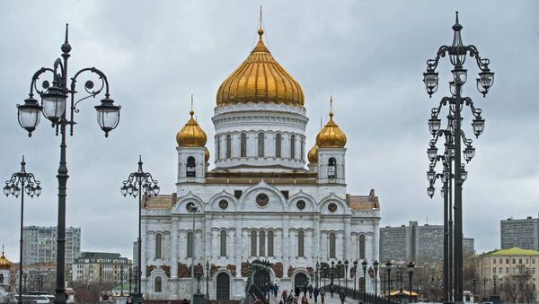 Храм Христа спаситеља у Москви - Sputnik Србија