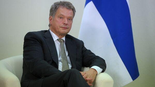 Predsednik Finske Sauli Niniste - Sputnik Srbija