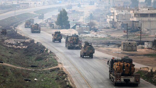 Turska vojna tehnika u Idlibu - Sputnik Srbija